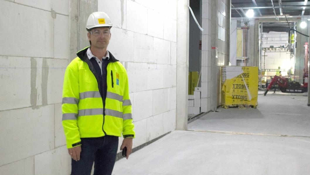 Thom-Erik Pape, daglig leder, Xela Norge.