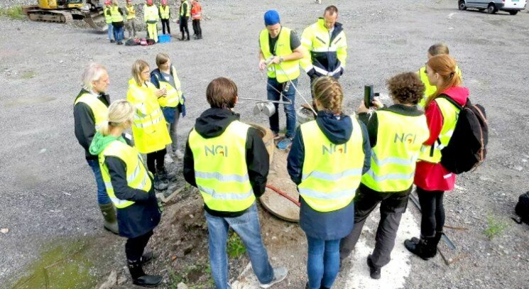 NGI arrangerer kurs i miljøprøvetaking for saksbehandlere og feltarbeidere.