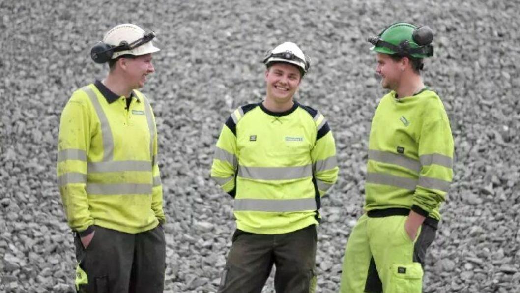 Fra venstre: Rune Kvam Vingen, Jonas Øverby og Geir Ivar Lauritzen.