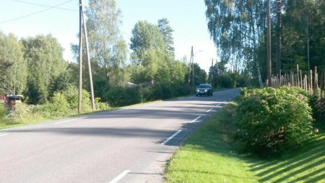 Fv. 503 Finstadveien i Eidsvoll (Akershus) skal få ny gang- og sykkelvei på parsellen Skytterseter - Kvennvegen.
