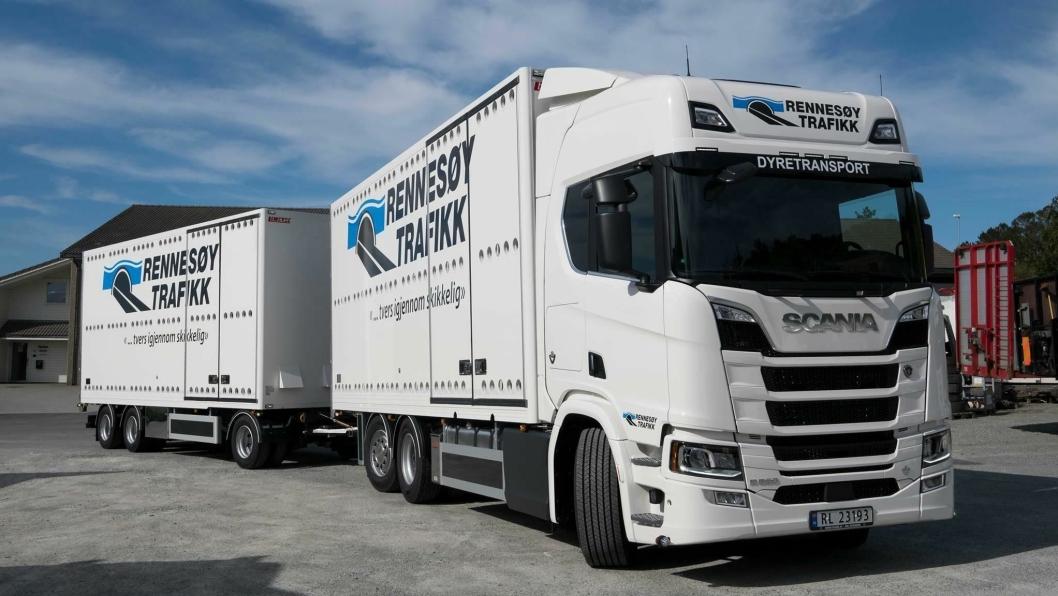 Rennesøy Trafikk er vinner av NLFs Transportørpris 2018.