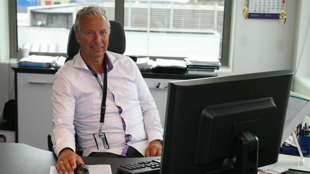 Bjørn Røstad i SR Group satser på 3PL, General Cargo og lager. Foto: Per Dagfinn Wolden