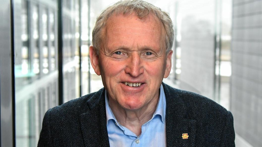 Torbjørn Naimak, regionvegsjef i Region nord går av med pensjon.