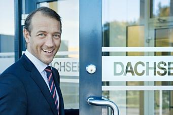 Dachser-sjefen til Schenker