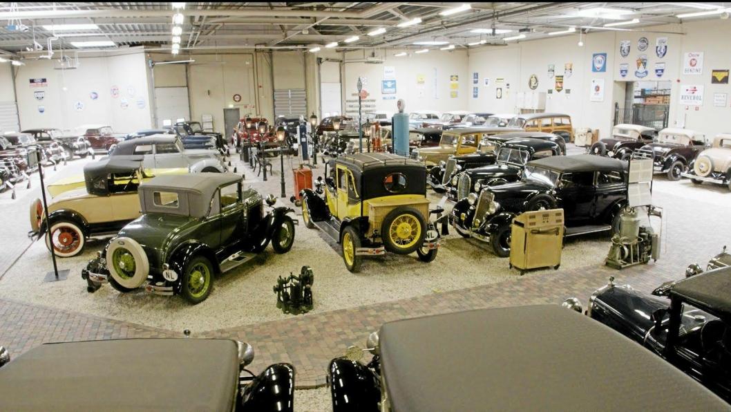 SOLGT: Verdens største private samling Ford-kjøretøy ble solgt for 58 millioner kroner.