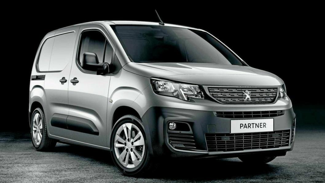 Ny Peugeot Partner kommer høsten 2018.