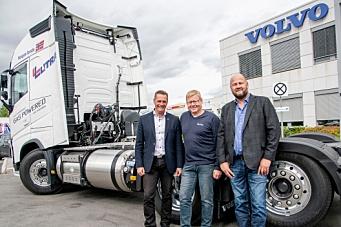 Volvo gassbil til Litra: - Vår månelanding