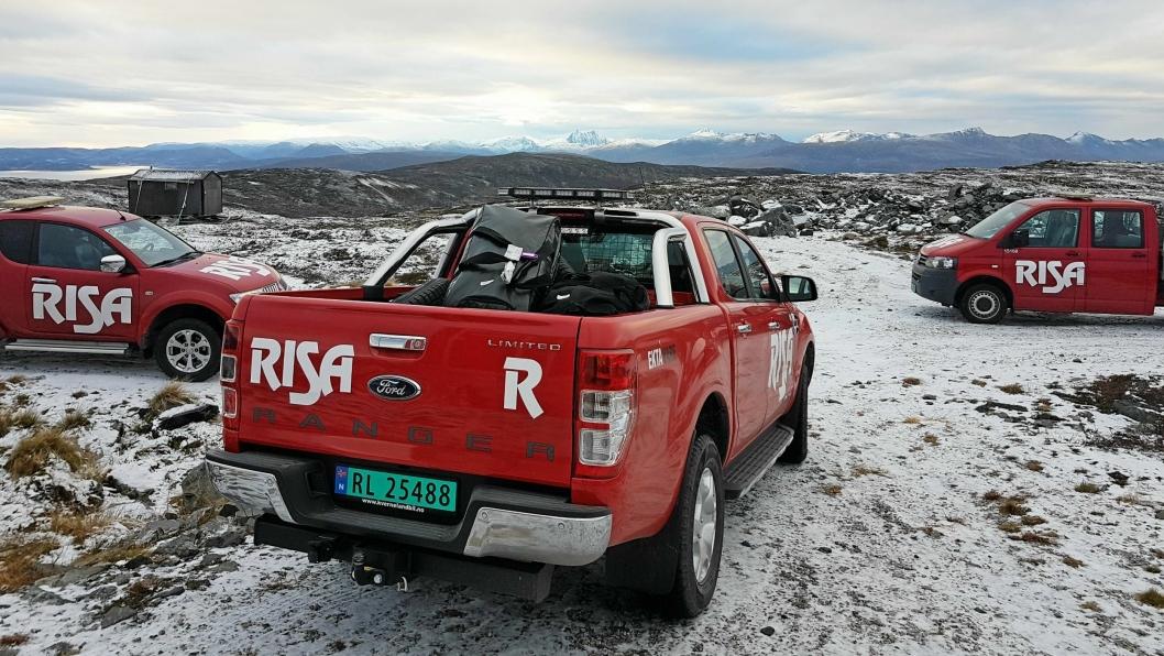 """Det blir stadig mer å gjøre for Risa AS """"ute på vidda"""". Bygging av vindkraft, er et satsningsfelt for entreprenøren. Illustrasjonsbilde fra Troms."""