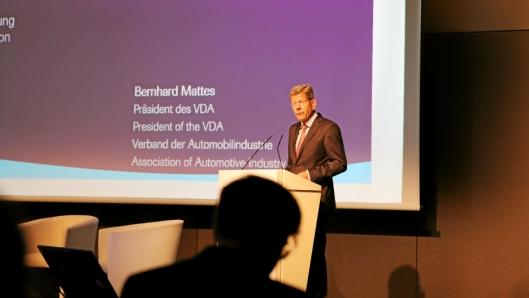 Bernhard Mattes president VDA.