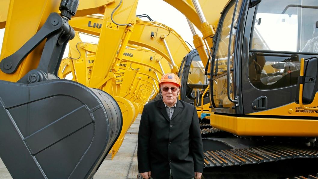 Terje Lien fortsetter med Liugong-salg i nytt selskap, etter at Hako Maskin gikk konkurs.
