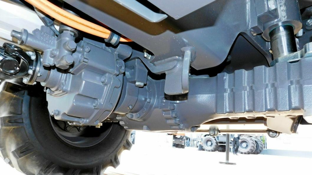 Dana skal bygge drivlinje for Mecalac e12 elektrisk hjulgraver på 11 tonn.