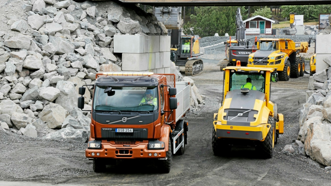 Volvo Days i Eskilstuna juni 2018. Volvo Construction Equipment.