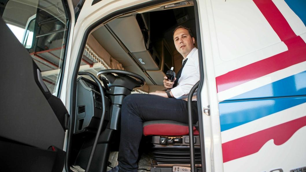 NÅ SKAL DET BLÅSES: Sikkerhet er vesentlig for oss, både for våre ansatte og gjennom at folk flest opplever oss som trygge, sier administrerende direktør Vladas Stoncius i Vlantana Norge.