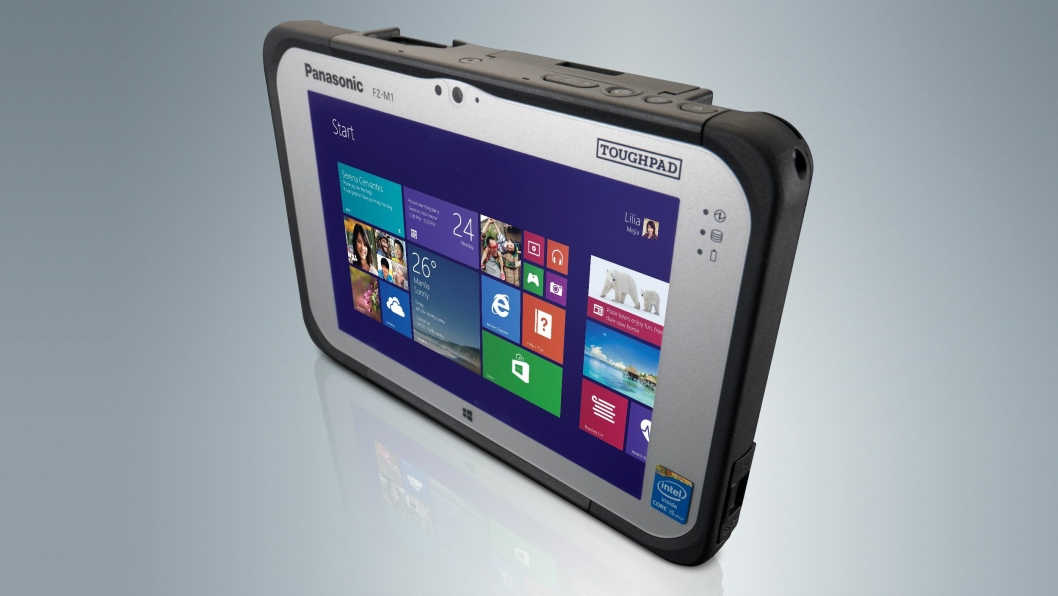 Panasonic oppdaterer den Windows-baserte Toughpad FZ-M1.
