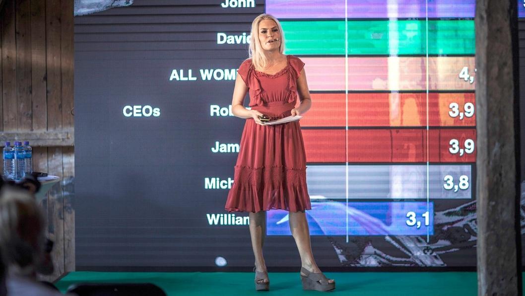 Isabelle Ringnes er sammen med Marie Sunde, Cecilie Moxheim og Eline Thorsrud grunnleggere av #Hunspanderer. Gjennom forskningsbaserte kampanjer har de fokusert på ubevisst diskriminering og kjønnsstereotypier i næringsliv og samfunn. Nå starter organisasjonen opp ett nytt forskningsprosjekt sammen med ti større bedrifter i Norge, deriblant AF Gruppen.