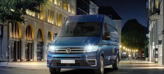 Elektriske VW e-Crafter lanseringsklar til høsten