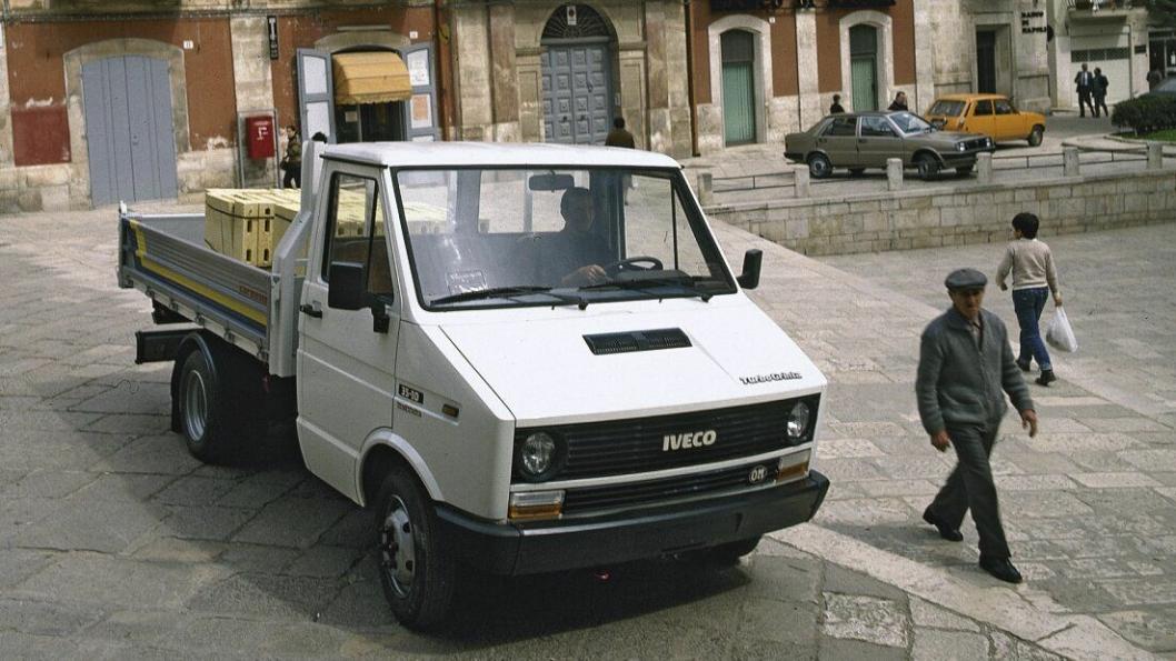 Slik så Iveco Daily ut da den ble lansert i 1978.