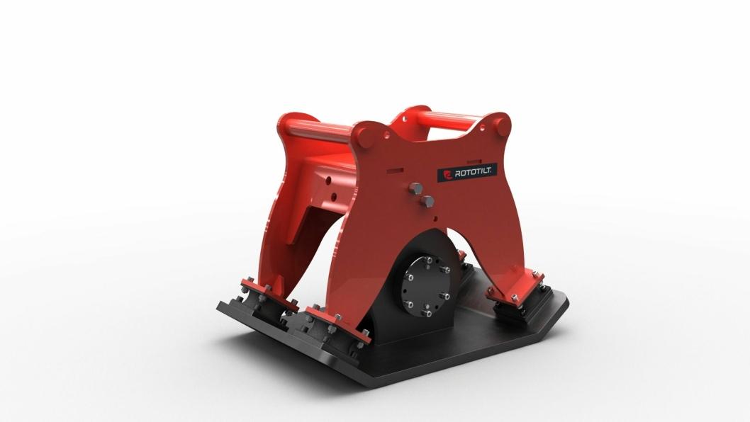 Nyheten Markvibrator C34 passer til maskiner på mellom fem og ti tonn.