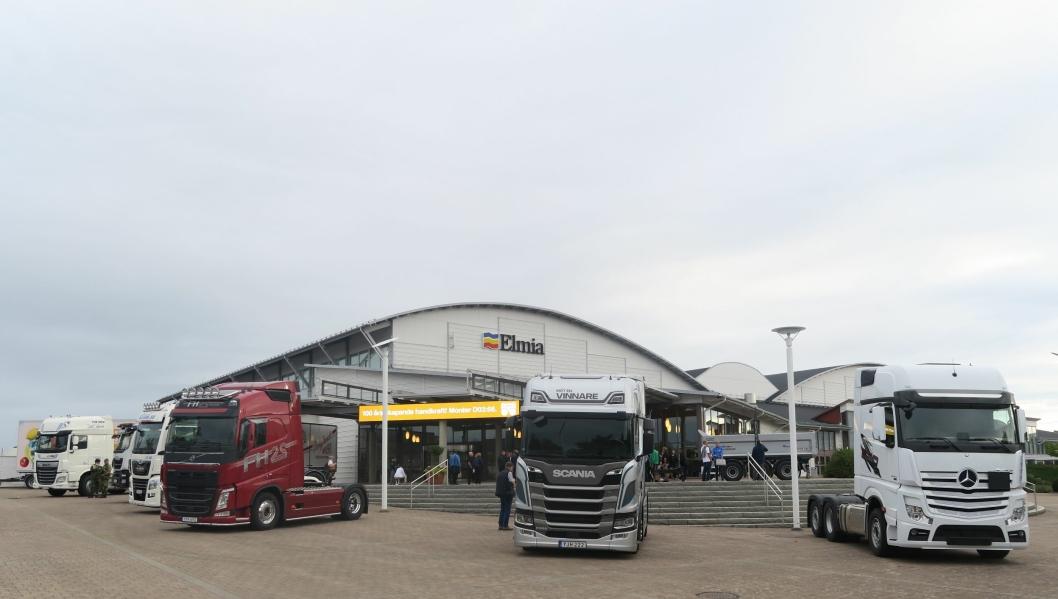 ÅPNER: I fire dager er den svenske transportbransjen samlet på Elmia Lastbil i Jönköping.