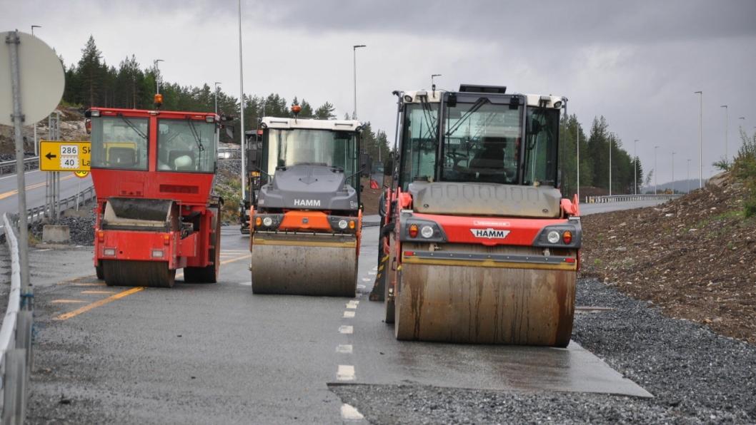 Klart for siste lag med asfalt før delåpning over Damåsen