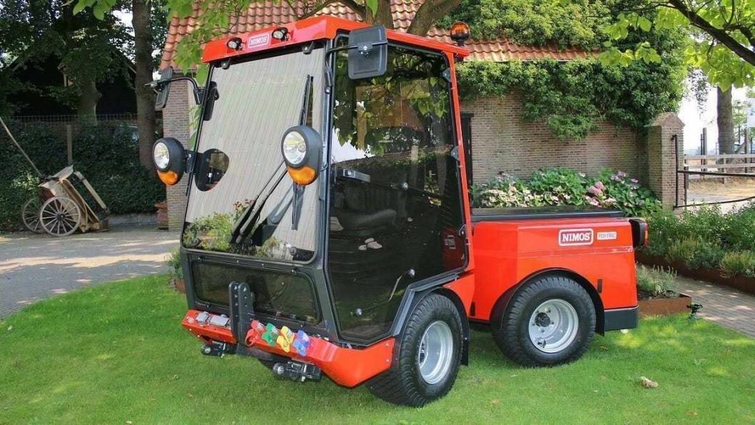 Posi-Trac på 1,6 tonn leveres standard med batteripakke med driftstid på ca. 10 timer.
