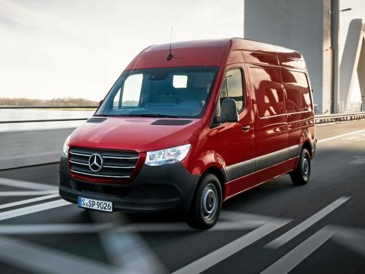 KANDIDAT: Mercedes-Benz Sprinter.