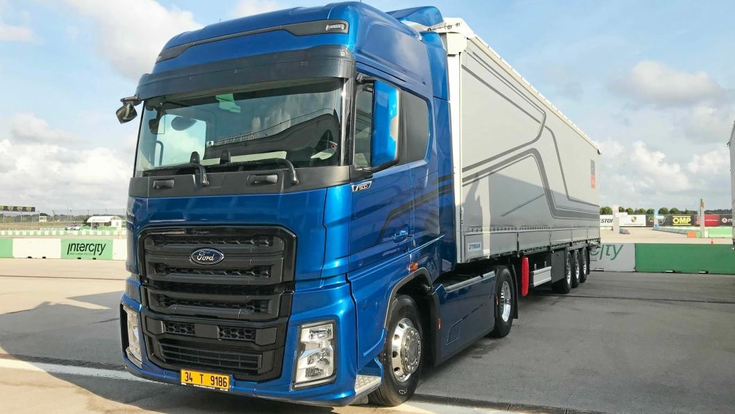 KANDIDAT: Ford Otosan skal nå lanseres i Vest-Europa.