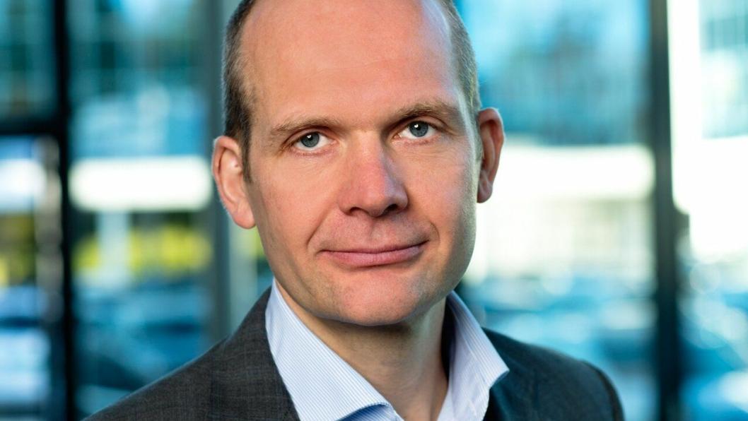 Ulf Tore Hekneby, administrerende direktør i Harald A. Møller AS.