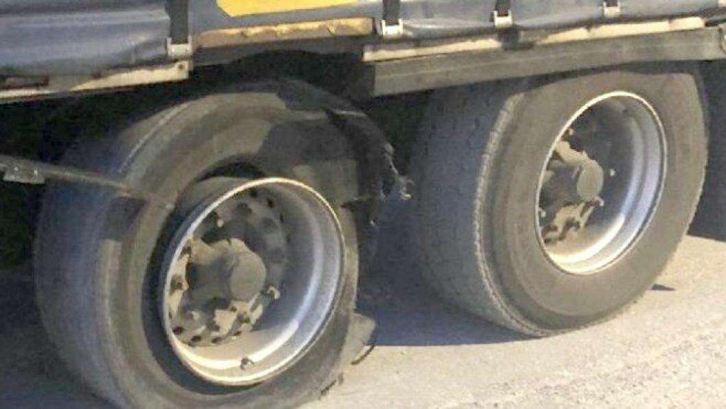 Nye krav om dekktrykkovervåking på tyngre kjøretøy skal kunne gi færre ødelagte dekk på tyngre kjøretøy.