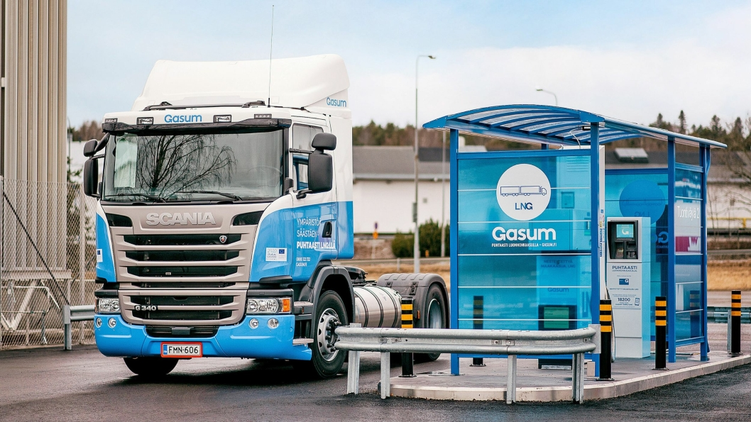 Finske Gasum skal ha flere titalls nye fyllestasjoner i Norden.