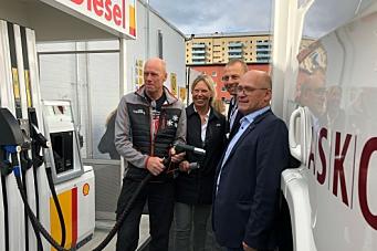 St1 lanserer nytt drivstoff for tungtransport