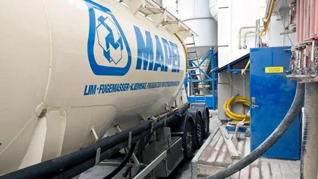 Expancrete kan nå leveres i bulk.