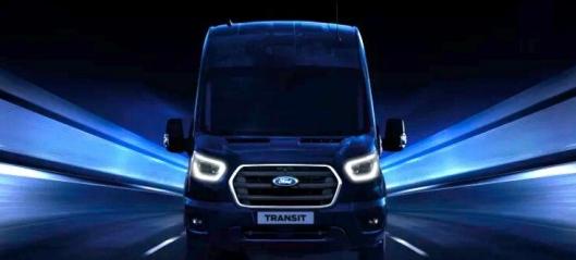 Elektriske nyttekjøretøy-nyheter fra Ford
