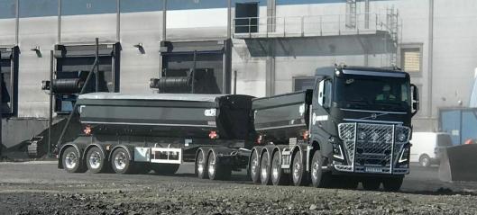 Søker sjåfører til flere 90-tonns-vogntog