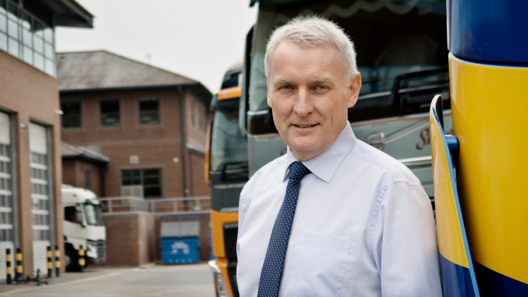 REISER: Arne Knaben forlater sjefsstolen til Volvo på de britiske øyer til fordel for jobben som Vice President for Nord- og Øst-Afrika sammen med Midtøsten.