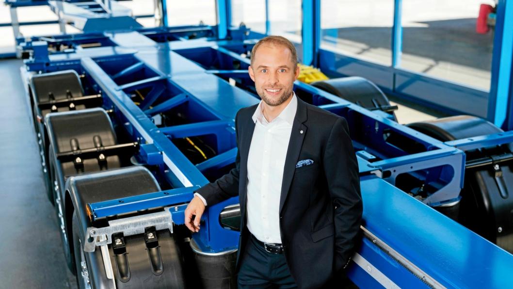Alfons B. Veer, ny direktør 1. august 2018 i den tyske påbyggeren Krone.