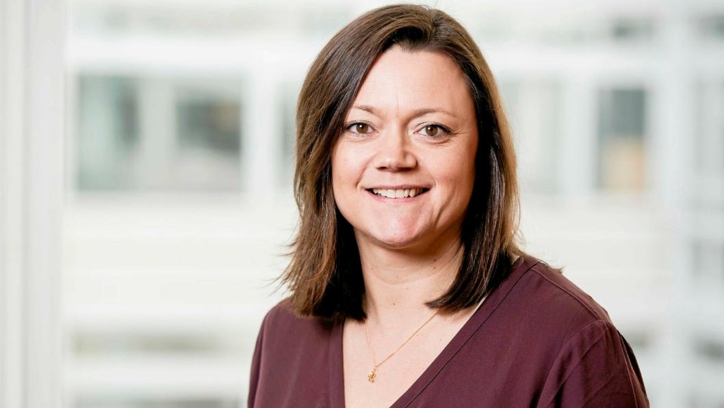 Ylva Lageson (47) er ansatt som leder av forretningsutvikling og IT ved NCCs hovedkontor.