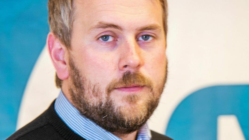 Martin Grønnslett er ansatt som regionsjef i MEF region nord.