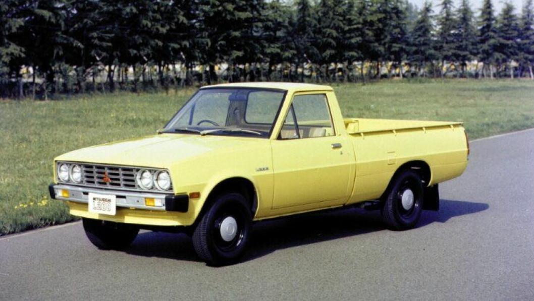 Mitsubishi Forte en ett-tonns pickup lastebil ble introdusert i september 1978. Den ble også kalt Mitsubishi Truck og L200.Karosseriet er i Single Cab-utførelese. Kraften hentes fra en 2,0-liters bensinmotor, med en opsjon for 2,6 liter i Nord-Amerika og 1,6-liter i Japan og andre markeder. En 2,3-liter diesel var også mulig for generell eksport.I oktober 1980 ble den tilgjengelig med et «part-time 4WD system».
