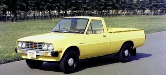 40 år med Mitsubishi pickup