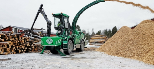 Skogservice importerer Albach flismaskiner