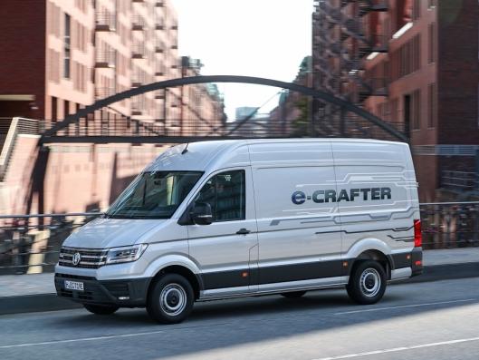 Volkswagen e-Crafter.