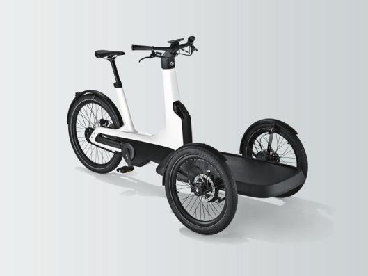 Volkswagens første elektriske sykkel, Cargo e-Bike.