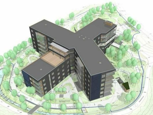Lindeberg sykehjem har en fossilfri byggeplass .