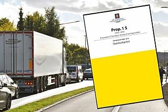 NLF: - Bra budsjett for transportnæringen