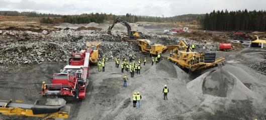 Fredheim Maskin viser 2000 tonn maskiner