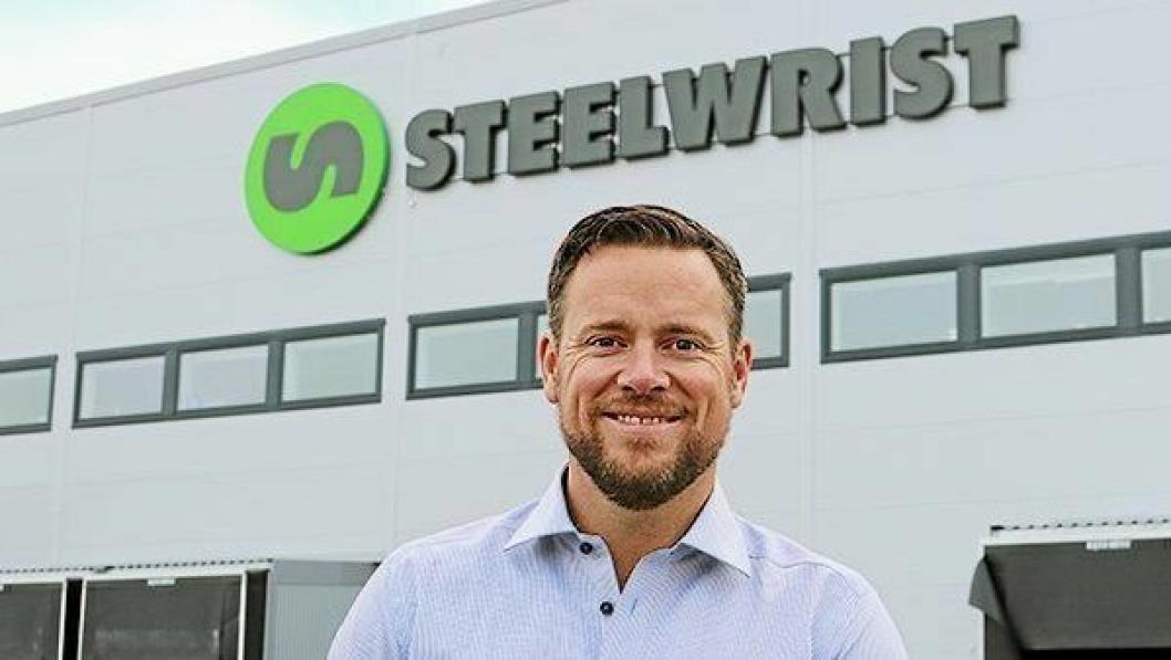 Stian Zachariassen er ansatt som ny daglig leder i Steelwrist AS.