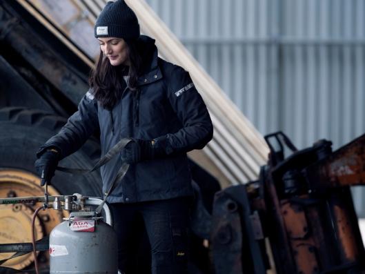 1107 AllroundWork, 37.5 vinterjakke for kvinner, navy.