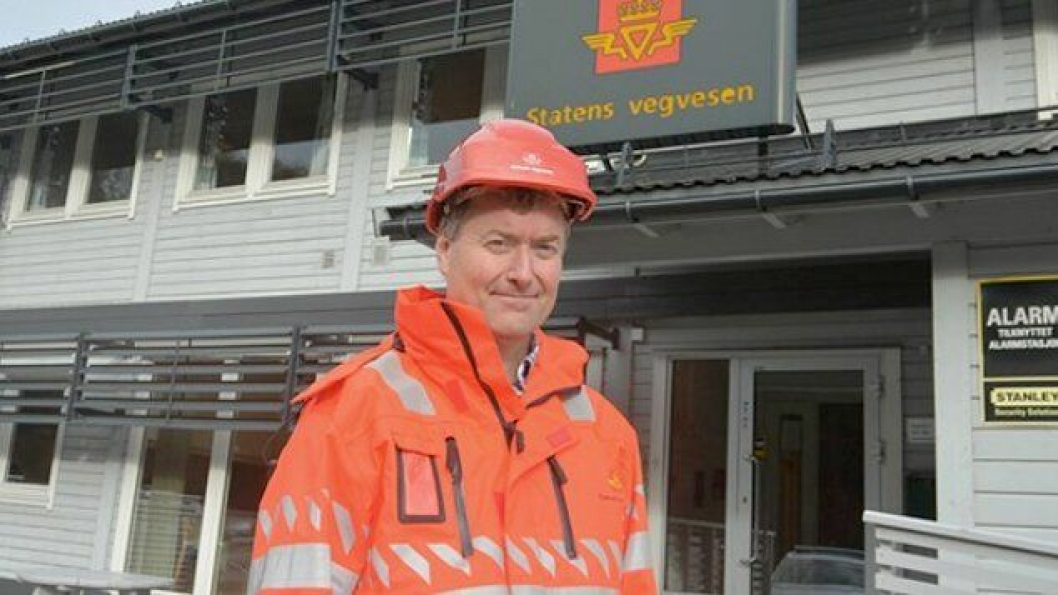 Espen Hammersland er prosjektleder for riksvei 555 Sotraforbindelsen i Statens vegvesen.