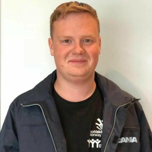 Norgesmester godstransport: Phillip Hanberg Nørgaard, Kent Maskin AS, Vestfold.